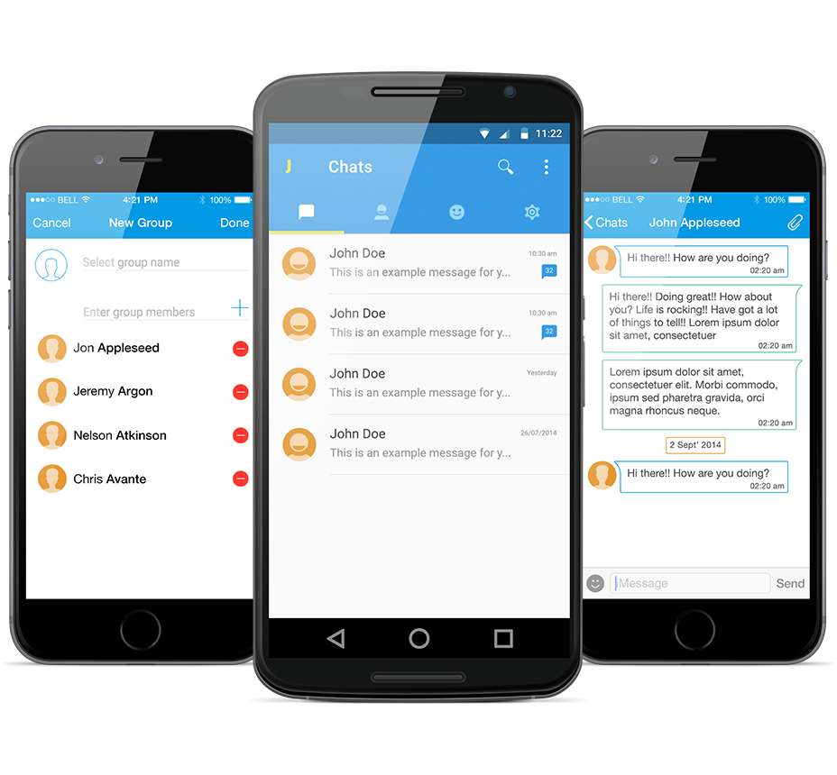 We Create Transformative Software Products. Android app