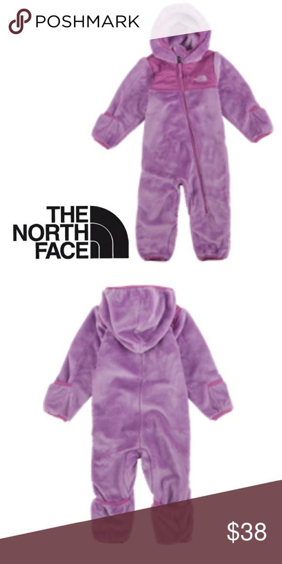 e0327017eb0b The North Face Baby One Piece Fleece Snowsuit  Boutique