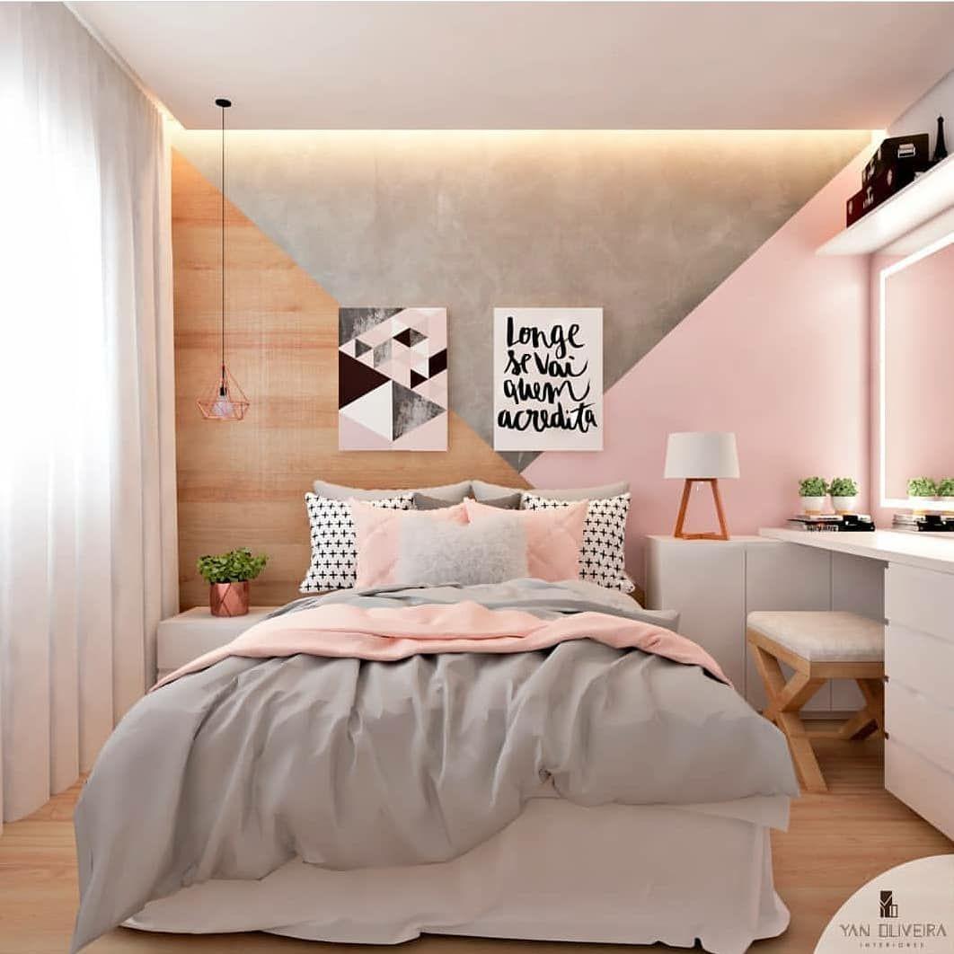 """Diy Home Decor Instagram: Decor E DIY En Instagram: """"Quarto Com Pintura"""