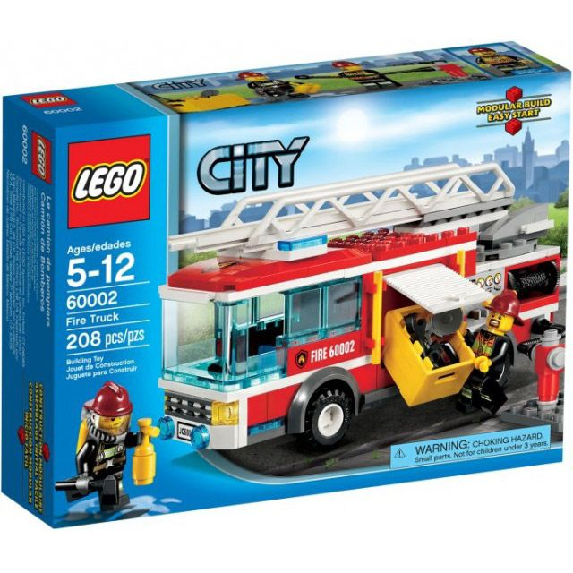 Fire Engine Fat Brain Toys City Vehicle