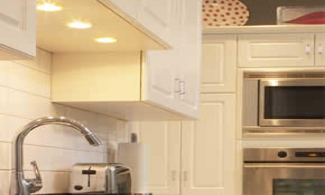 Kitchen Lighting Under Cabinet Light Fixture Above Sink Installing