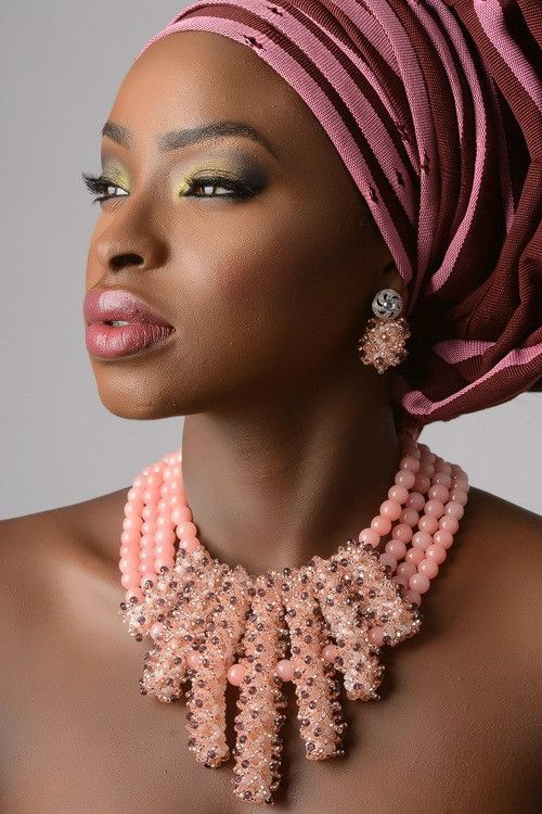 Nigerian Bridal Bead Necklaces: 50 Pictures Latest Designs ...