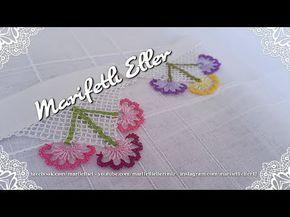 İğne Oyası Havlu Kenarı Modeli Anlatımlı Yapımı Türkçe Anlatımlı Videolu