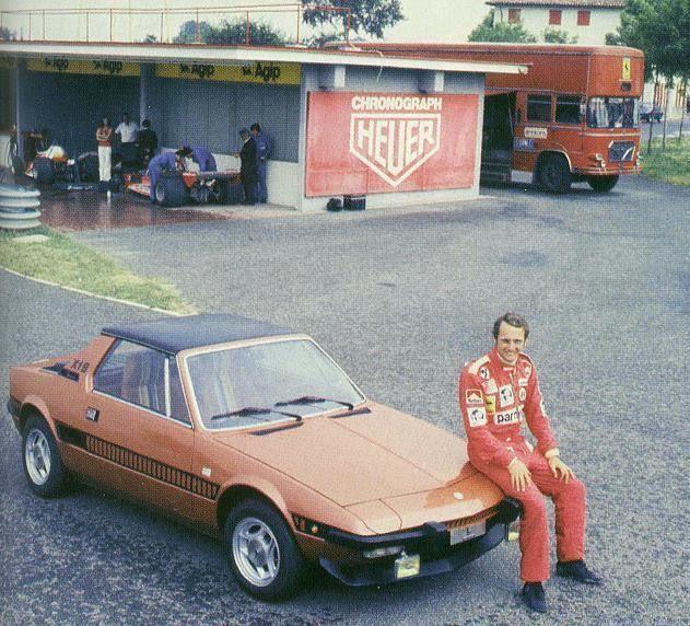 F1 Niki Lauda And Fiat Bertone X19 Serie Speciale 1977 Cars