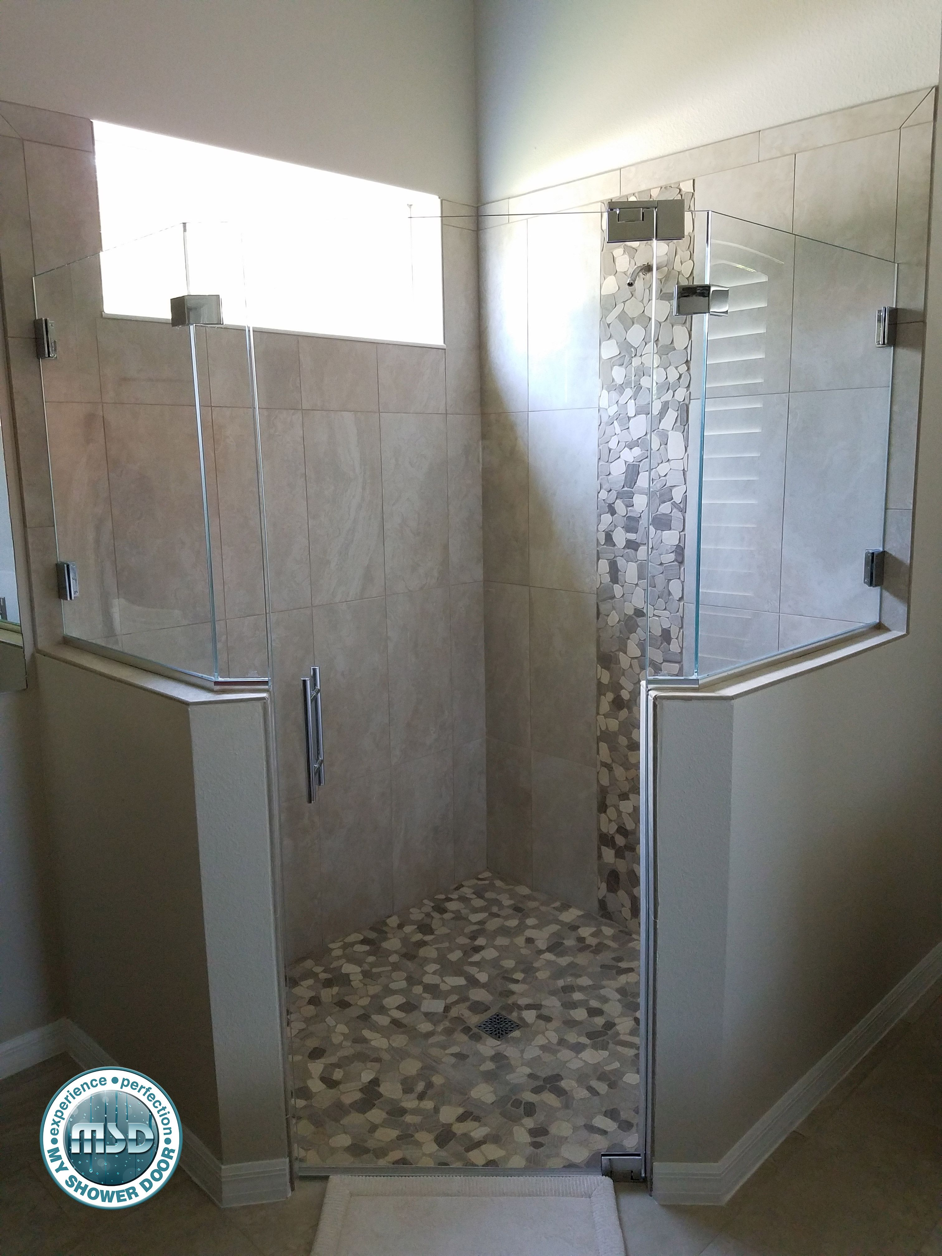 Love This Custom Fit Shower This Is A 5 Piece Custom Frameless