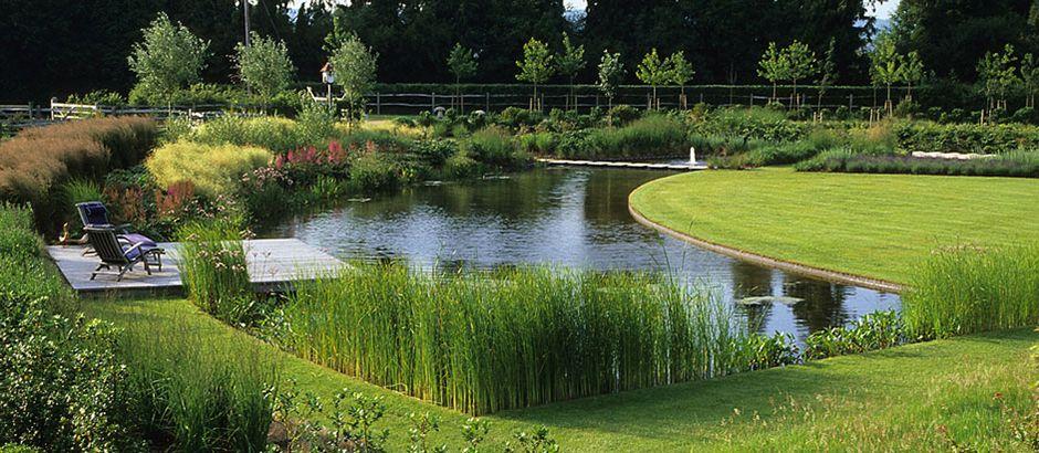 pond garden hampshire by acreswild