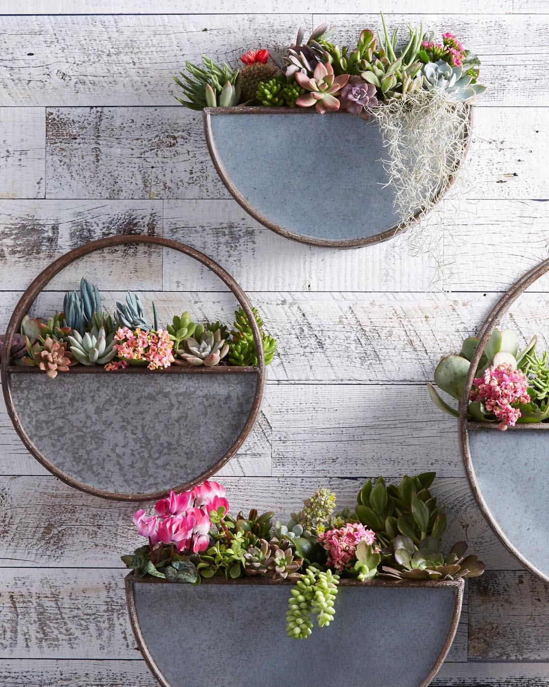 Made Of Galvanized Metal For A Rustic Look Our
