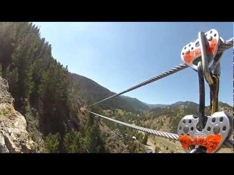 Zip Lining In Colorado Springs Colorado
