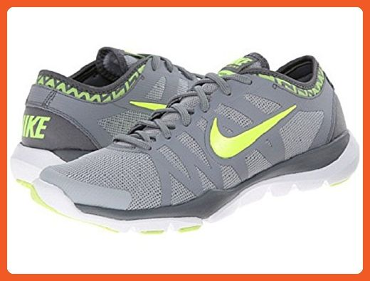 UK Shoes Store - Mens Nike Flex Supreme TR3 Sneakers New Gray Blue Black Sport Running Shoes 13 Gray