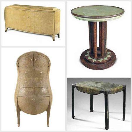Le Galuchat Regard D Antiquaire Meubles Art Deco Art Deco Meuble De Style