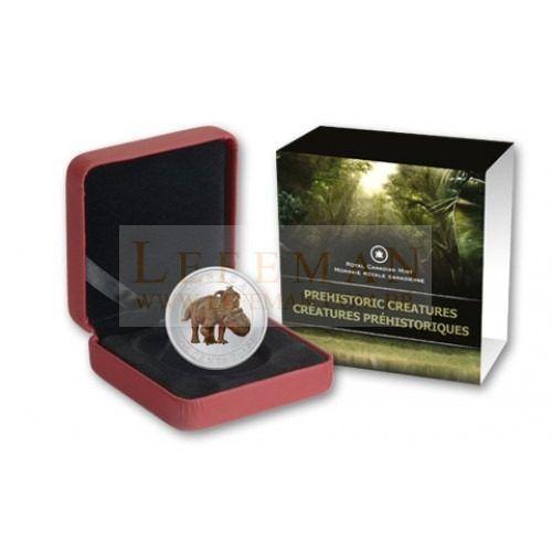 packhy rhinosaur | 5964 canada 25 cents 2012 pachyrhinosaurus pachyrhinosaurus moeda que ...