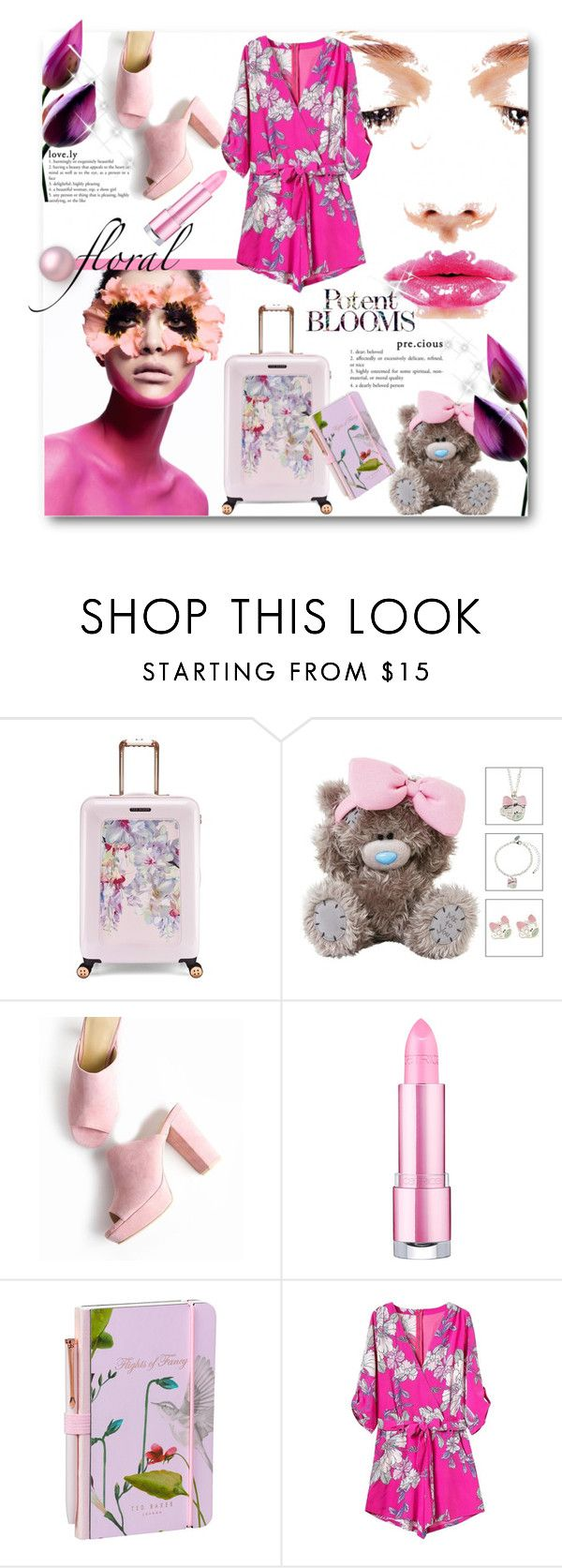 """""""Lovely Blooms🌼🌸"""" by elleylove ❤ liked on Polyvore featuring Ted Baker and Wild & Wolf"""