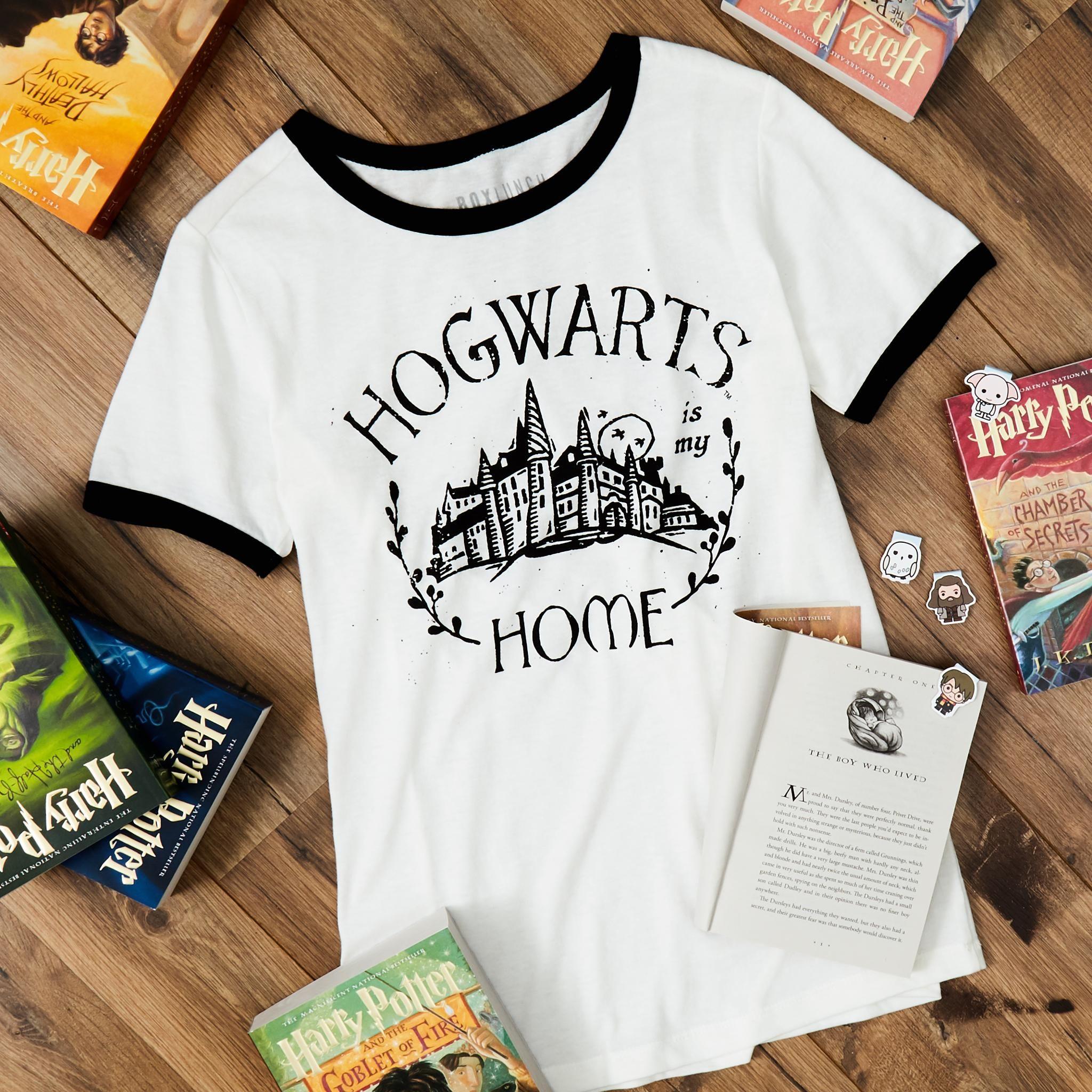 Femme T-Shirt Hogwarts HARRY POTTER