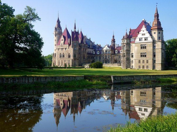 Castle Moszna, Poland