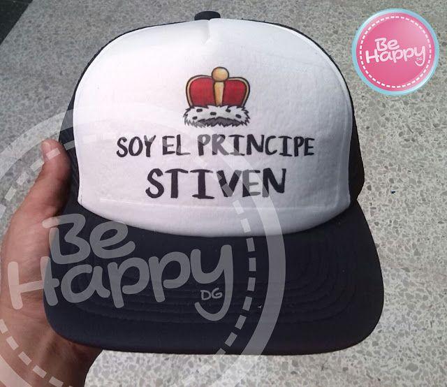 fe236bb2d725d Be happy Dg  gorras personalizadas Bucaramanga