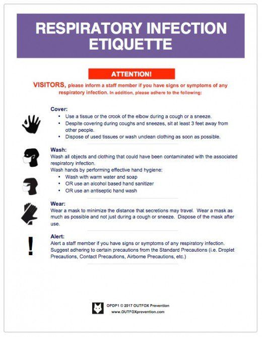 Cdc Standard Precautions Posters Infection Control Nursing