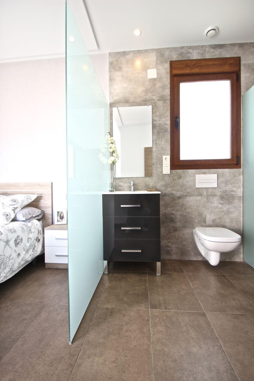 Badkamer in villa, Benijófar - Spanje | Luxe moderne nieuwbouw ...