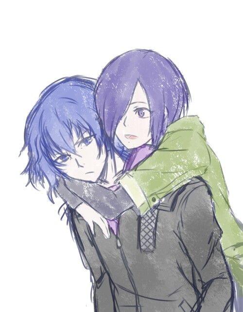 Ayato & Touka -- Tokyo Ghoul