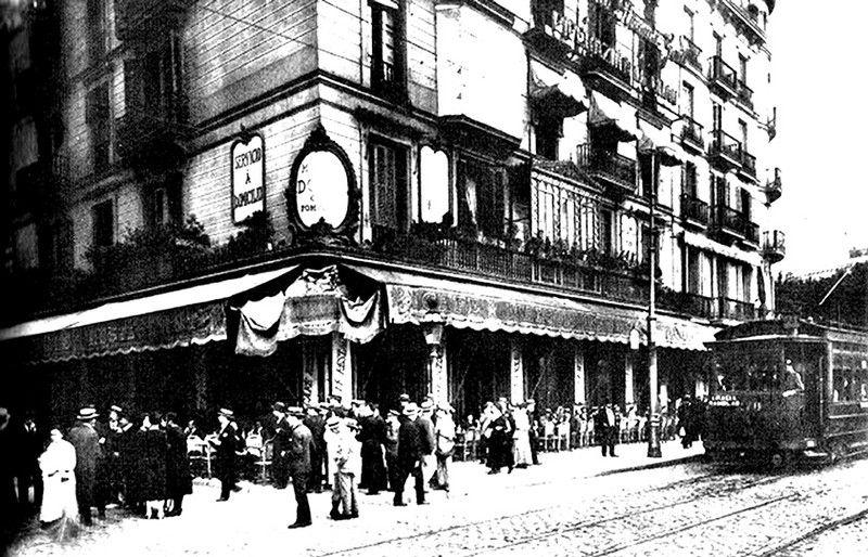 Maison dore la barcelona de antes my city is barcelona - Restaurante 7 puertas barcelona ...