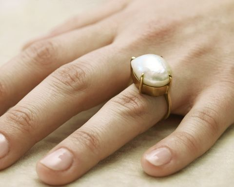 gillian conroy jewelry - baroque pearl ring