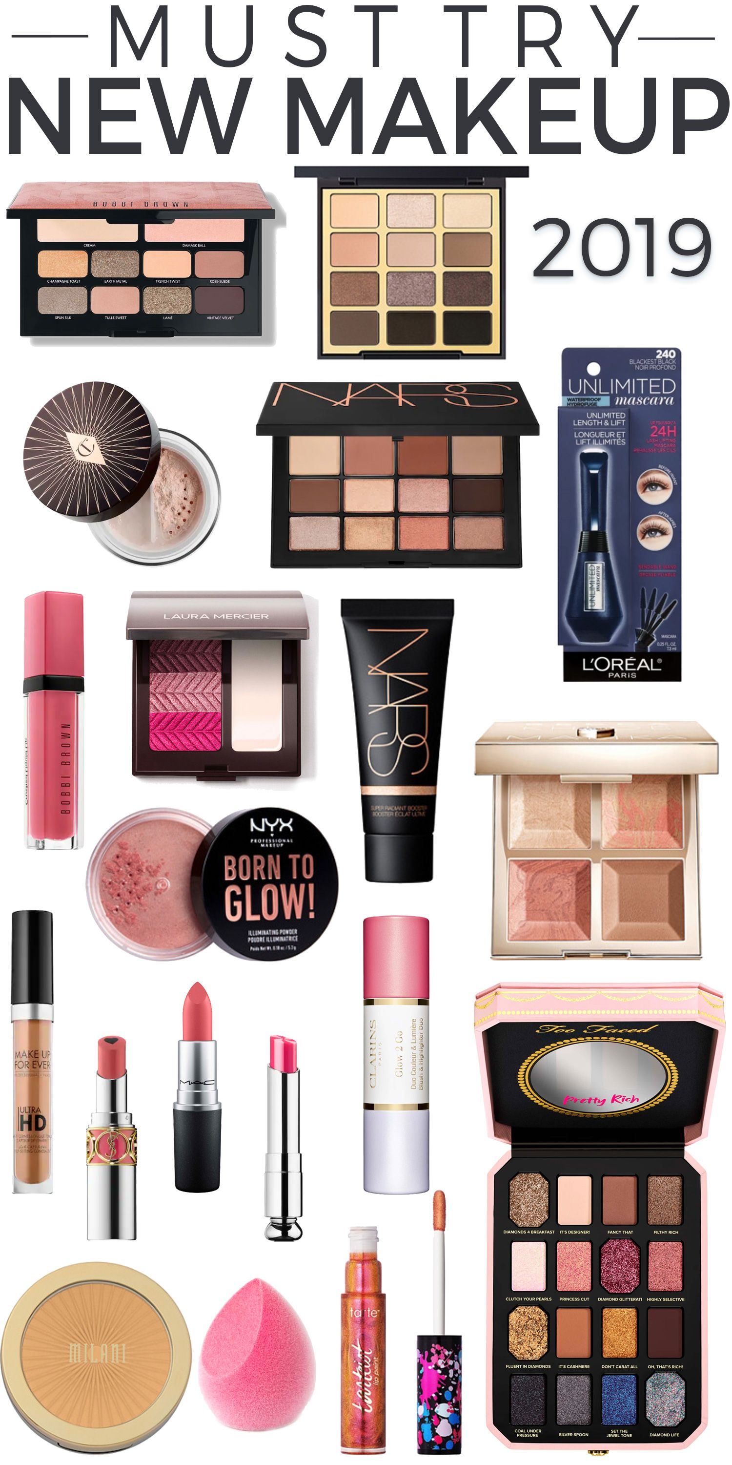 Best Beauty Products 2019 19 New Makeup Products to Put On Your Radar   MAKEUP   Makeup