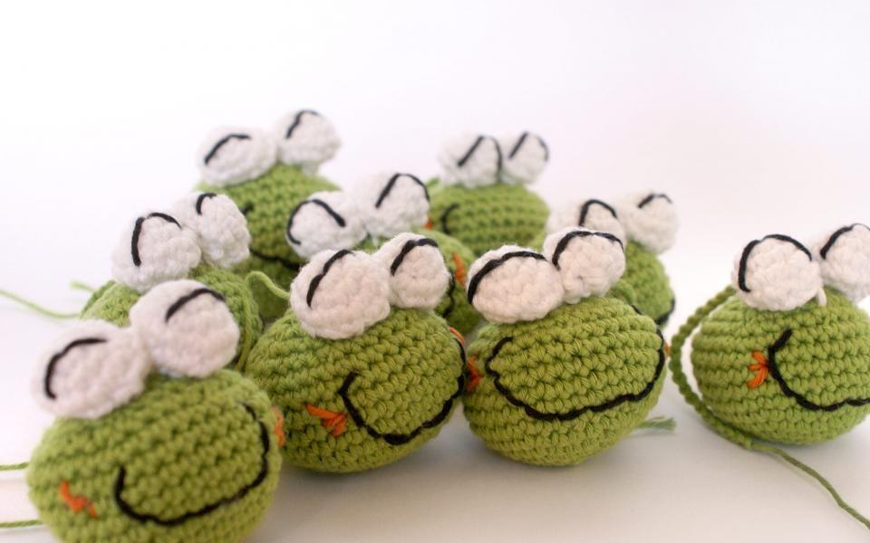 Frog amigurumi crochet free pattern patrón gratis | Buena suerte ...