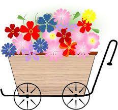 花かご イラストの画像検索結果 はなくるま 花カゴ Flower Cart