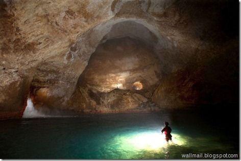 Cave Swimming