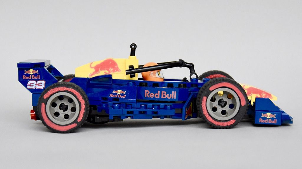 Rb 14 2018 Lego Red Bull Racing Speed Champions Style Moc Start