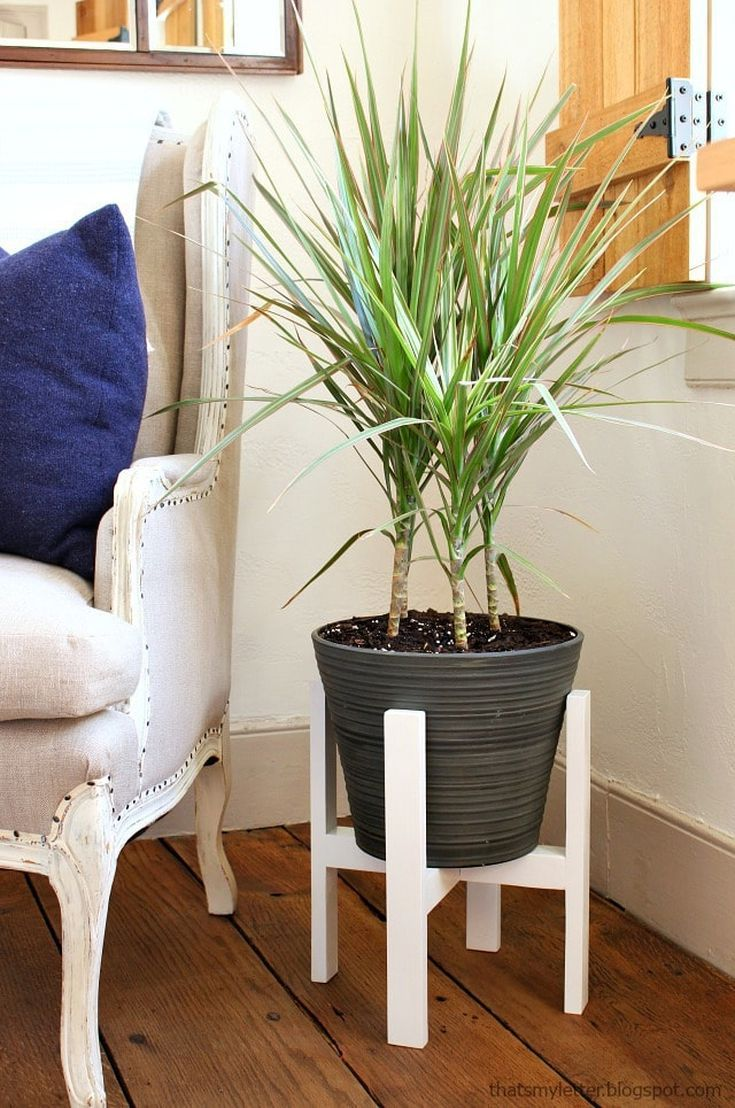 14 free plant stand plans in 2020 woodworking projects