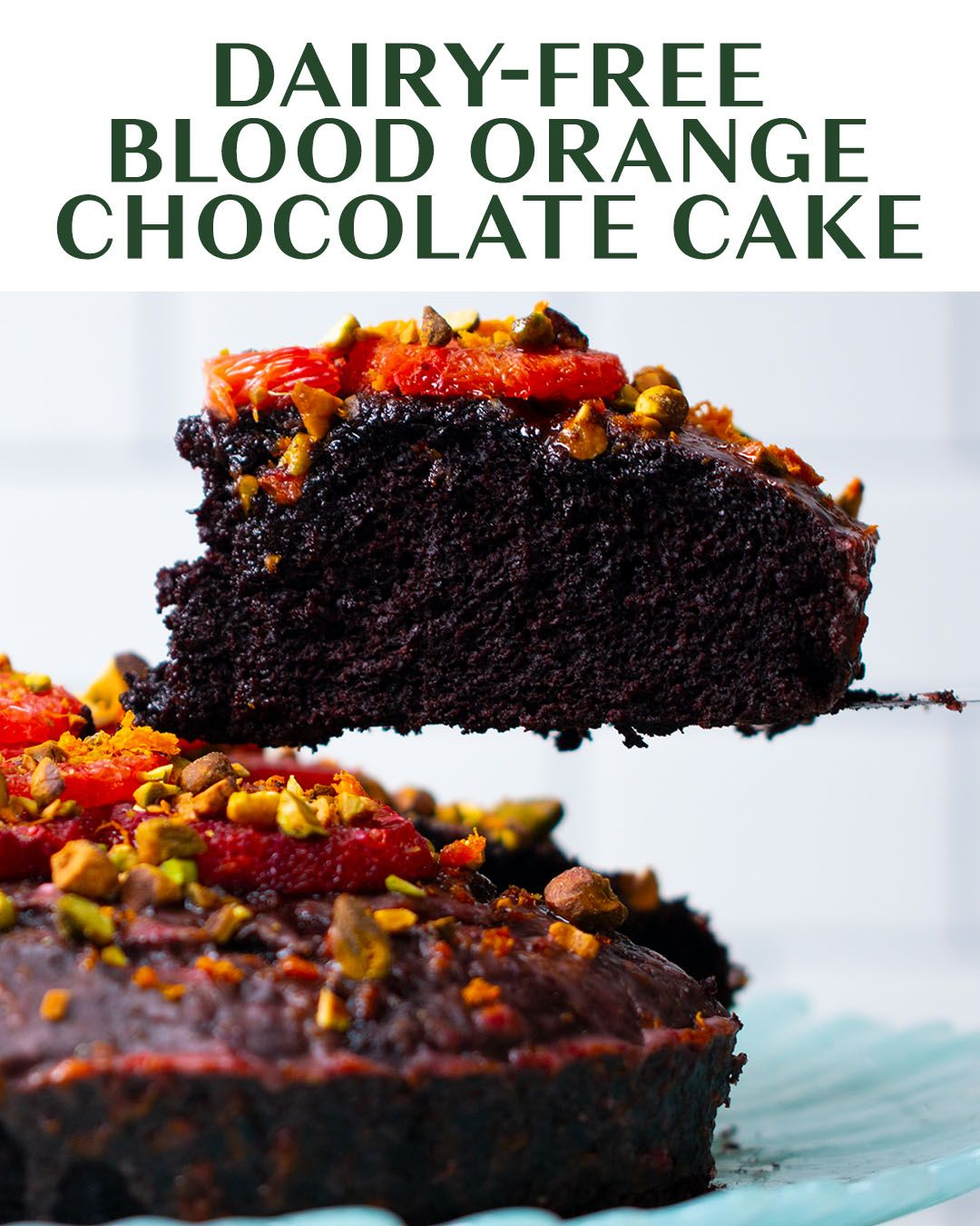 Blood Orange Chocolate Olive Oil Cake Recipe by Tasty