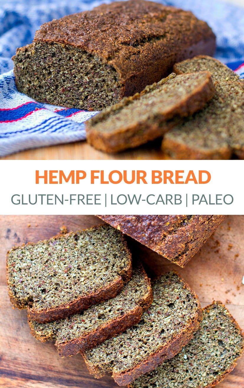 Low Carb Paleo Bread With Hemp Seed Flour Recipe Easy Keto