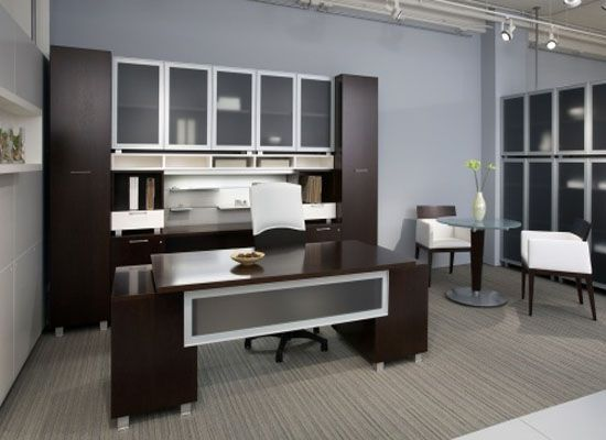 Business Home Elegant Office Furniture Ideas