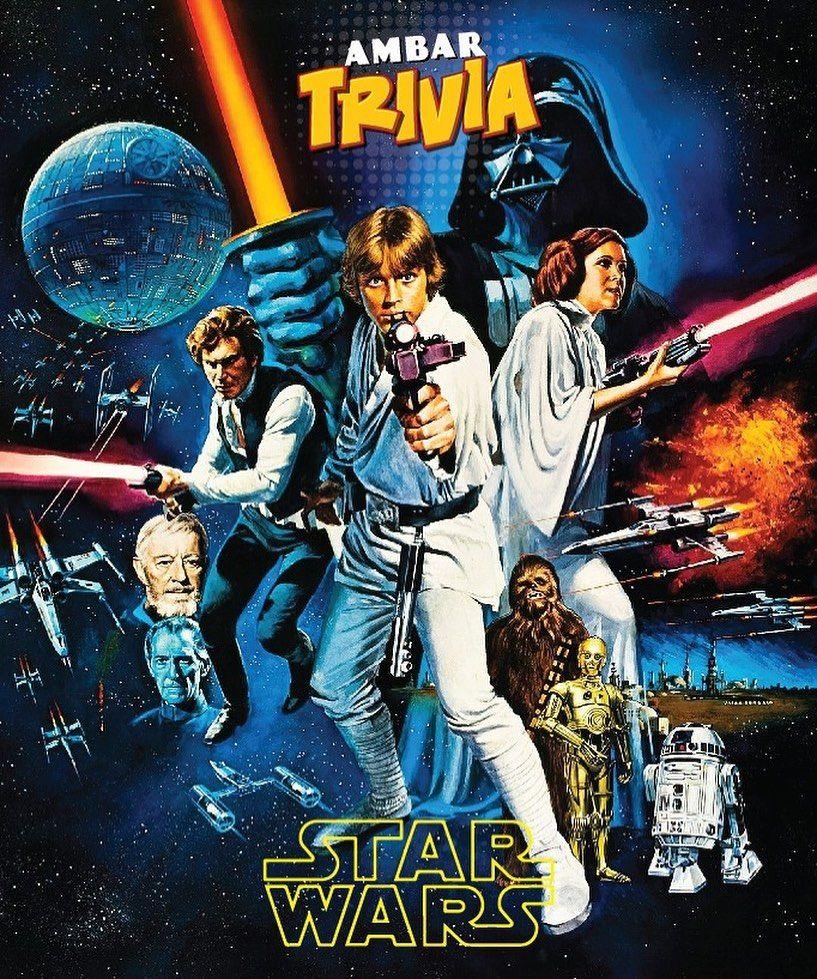Que La Fuerza Te Acompane Ambar Trivia Crees Que Sabes Todo Acerca De Star Wars Ven Este Martes 21 De Mayo A Las 7 Star Wars Poster Star Wars Poster Prints
