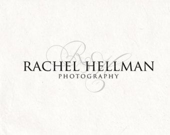 Premade Photography Logo Design Watermark Initials Instant Download Digital Psd File