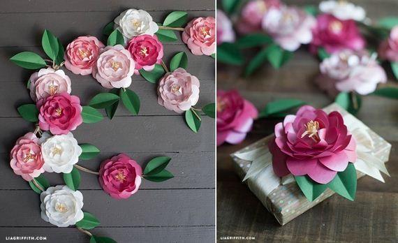 19 diy stunning paper flowers paper flowers pinterest diy 19 diy stunning paper flowers mightylinksfo