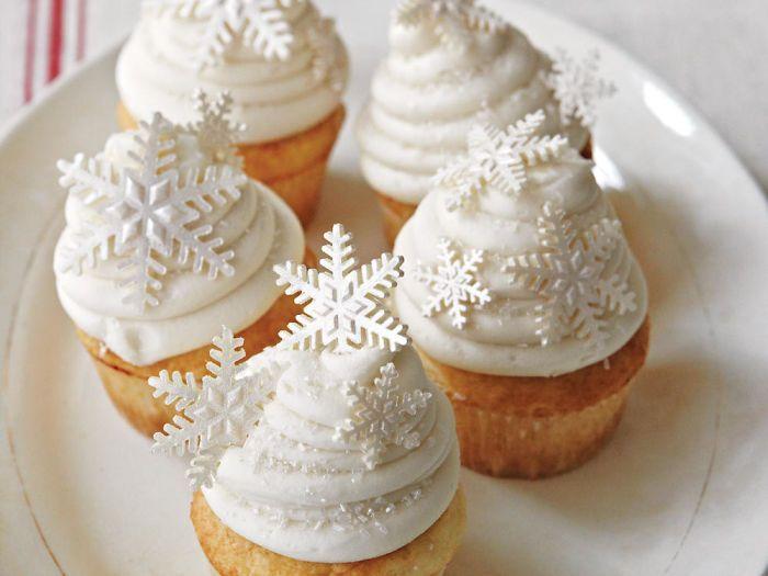 35 cupcakes créatifs pour Noël #cupcakenoel
