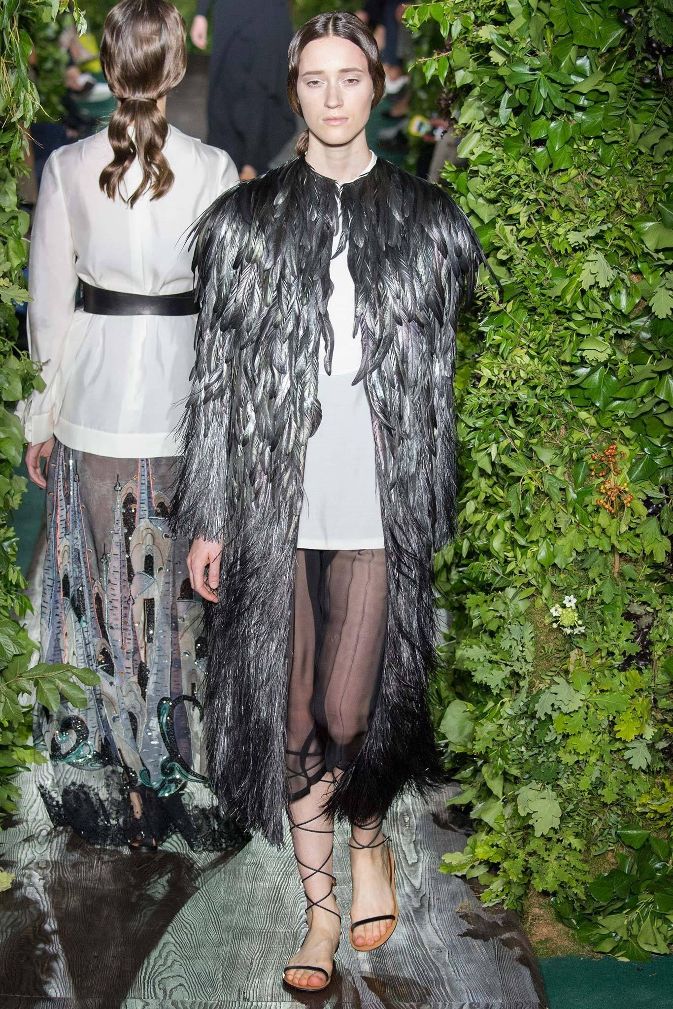 Valentino Garavani fall 2014 couture collection. See more: #ValentinoGaravaniAtFip, #FashionInPics
