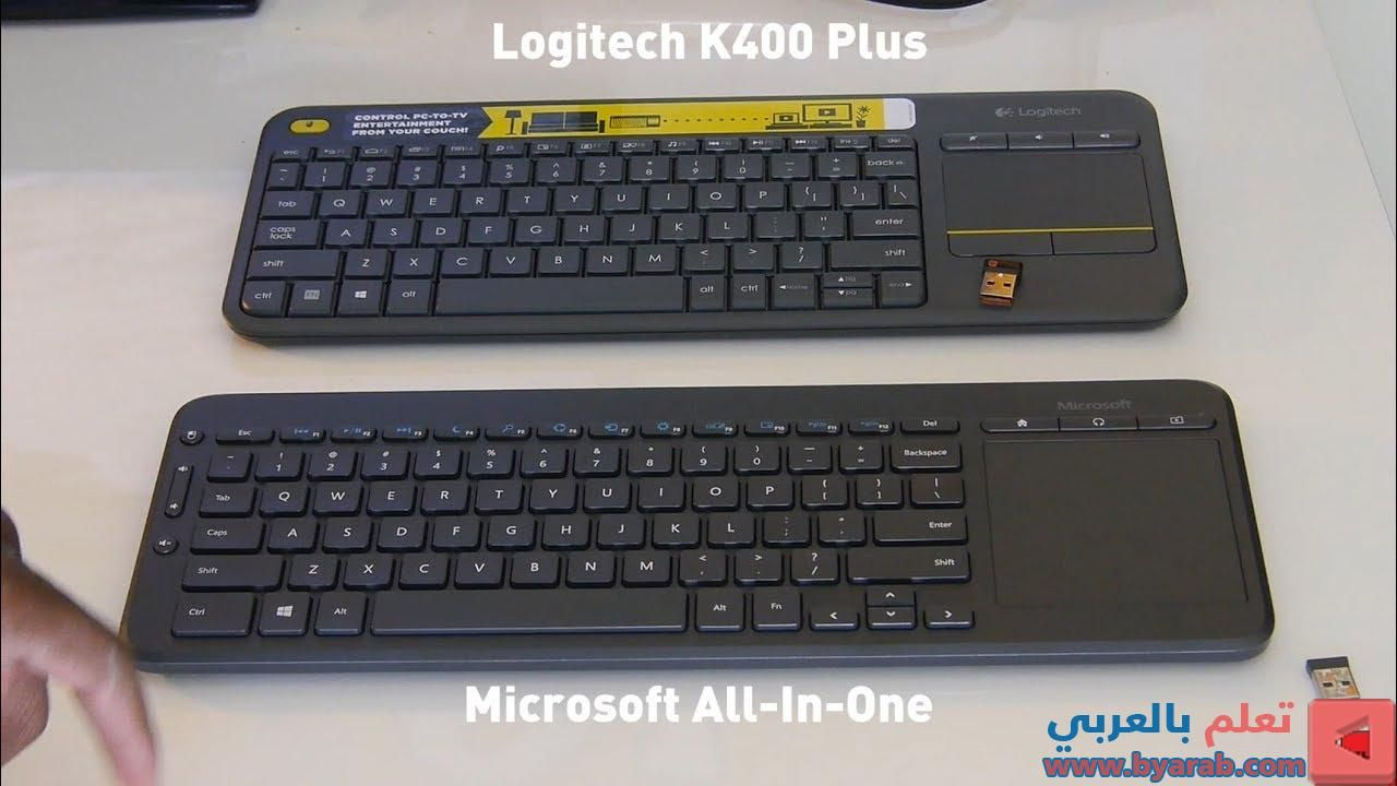 Microsoft All In One Media Keyboard Vs Logitech K400 Touch Plus Keyboard Differences Unboxing In 2020 Logitech Keyboard Microsoft