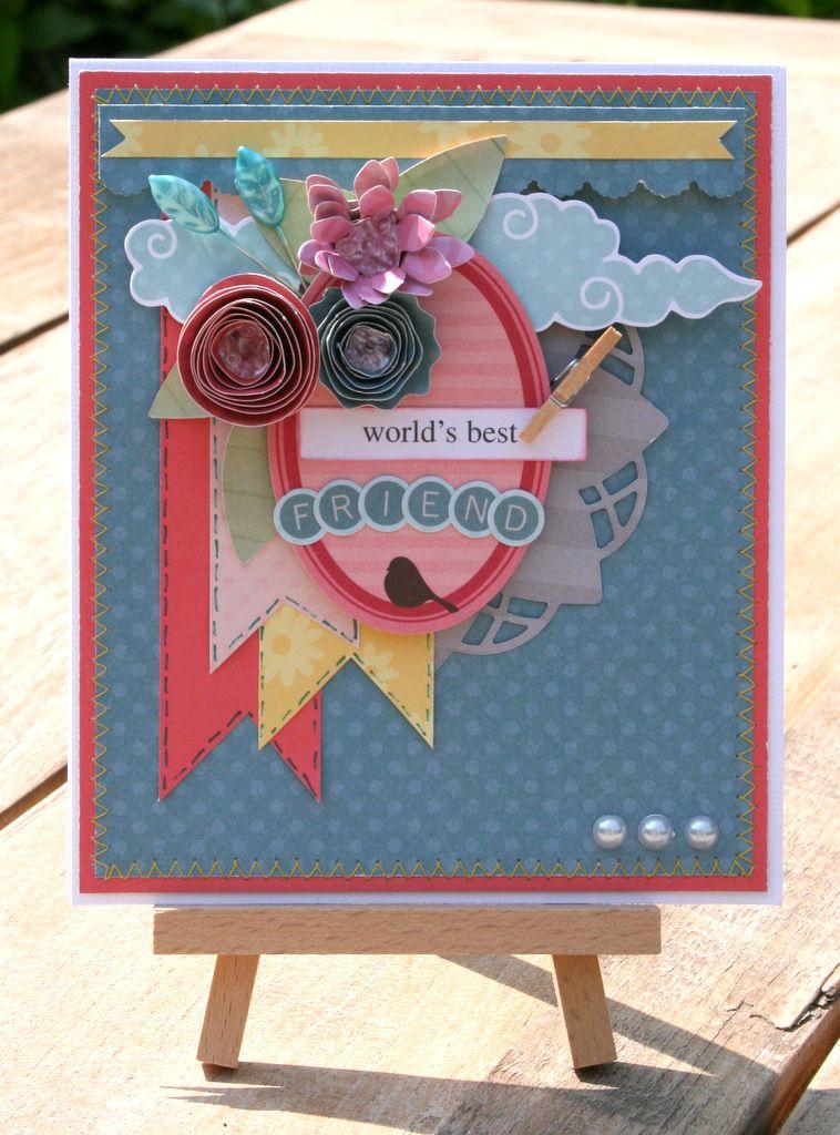 World's Best Friend - My Little Shoebox - Scrapbook.com