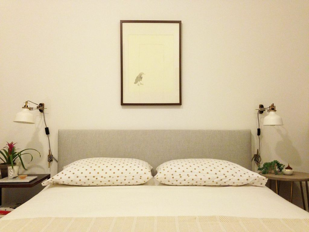 All Done  Ikea headboard, Ikea headboard hack, Ikea bed frames
