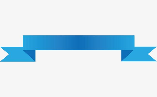 Blue Ribbon Banner Vector Png And Vector
