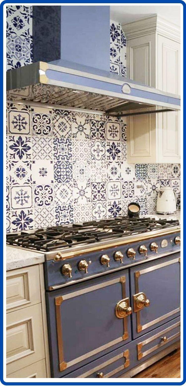 - Pin On Hand Painted Kitchen Tile Ideas