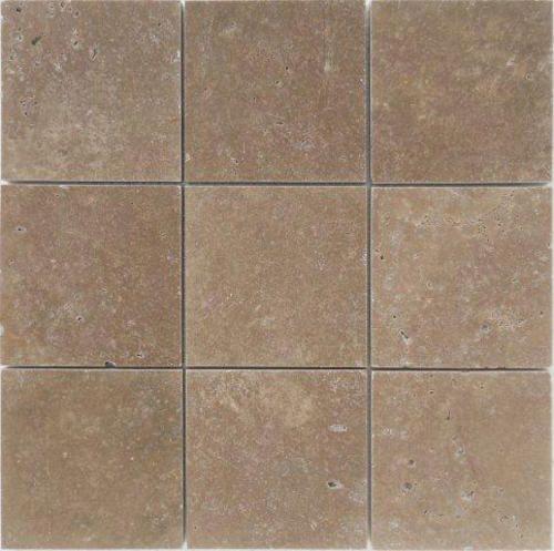 Stoneexpress Stone Skin Peel N Stick Mosaic Travertine 4 X 4 At Menards Bathroom Update