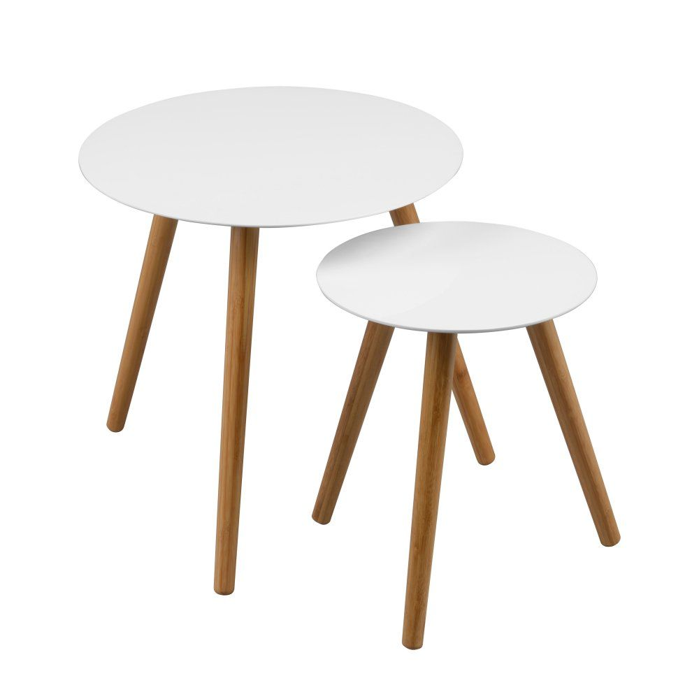 Argos High Gloss Table And Chairs: Fusion Living White High Gloss Nest Of Tables With