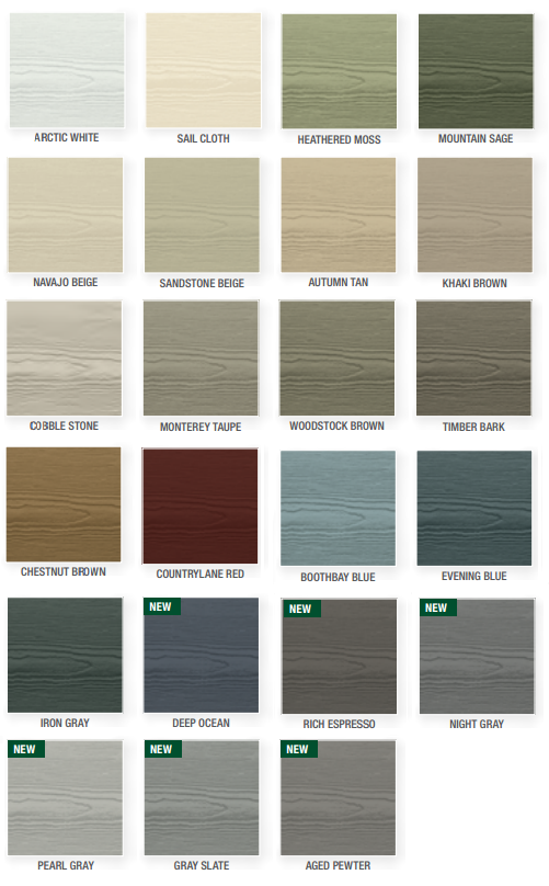 James Hardie Plank Siding Siding Colors For Houses Exterior Siding Colors Exterior Vinyl Siding Colors