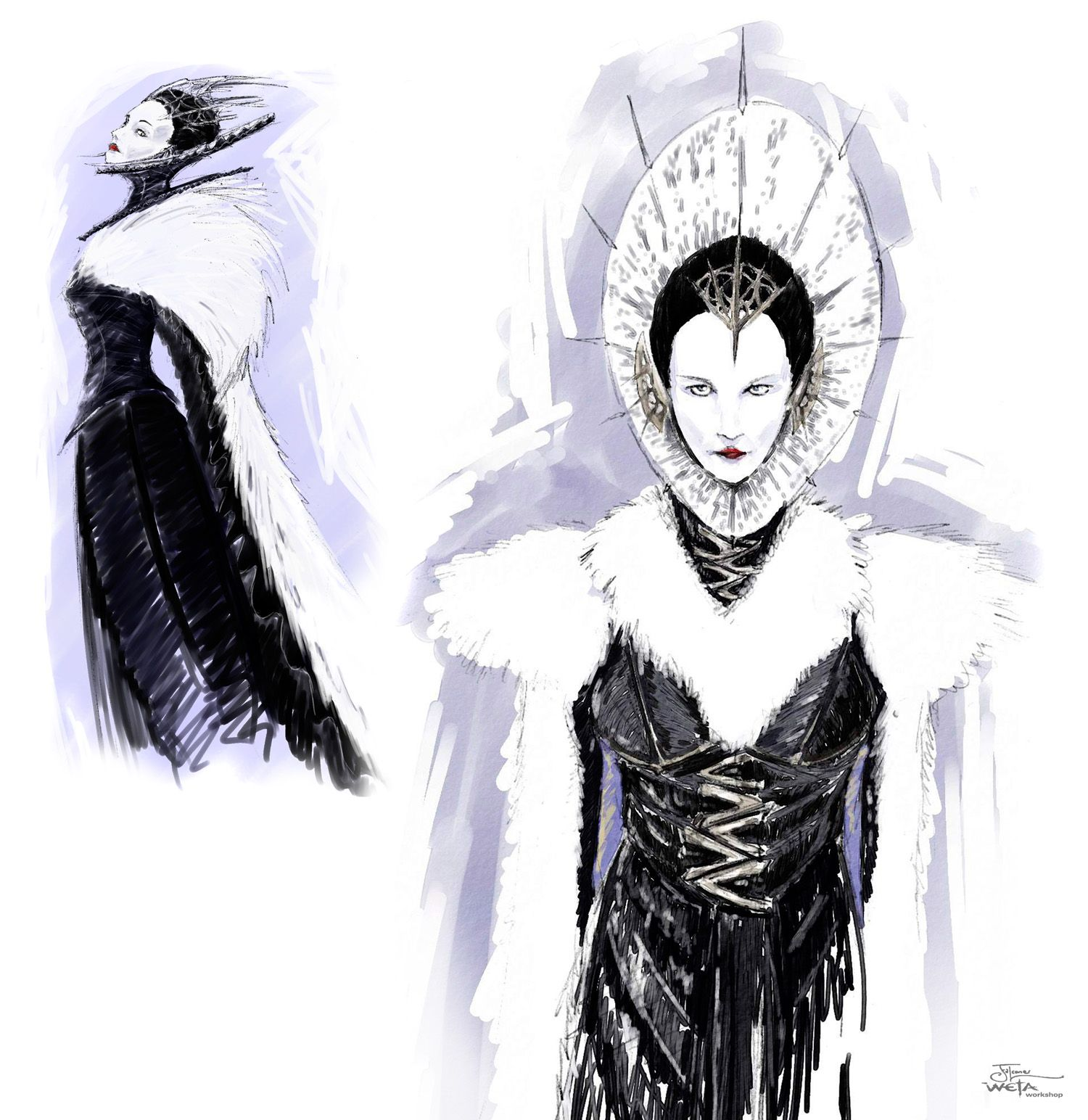 the lion the witch and the wardrobe artwork | The White Witch ...