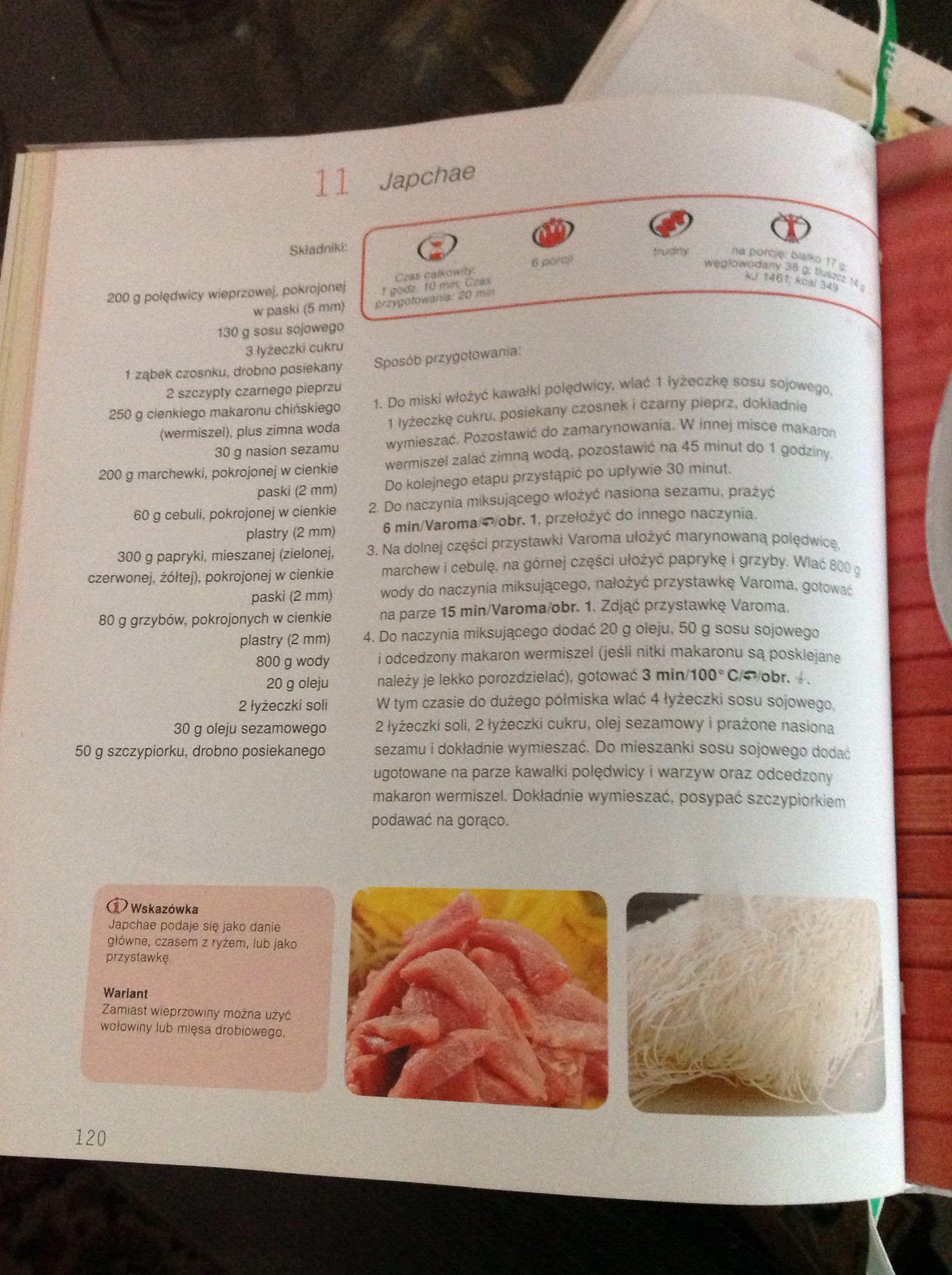 Japchae Thermomix Recipes Japchae Thermomix