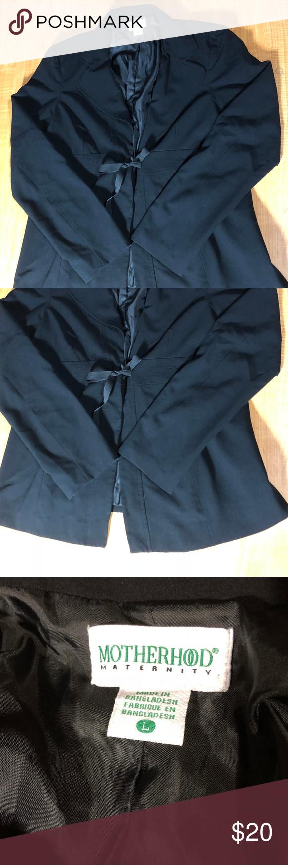 e84d2fda1eb51 Motherhood Maternity Blazer Jacket - Size L This is a maternity blazer  jacket by Motherhood Maternity, size L, color black. Measurements are  length 29