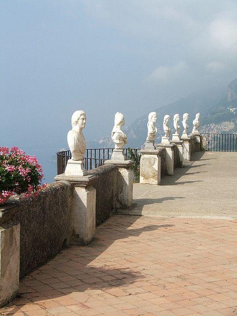 Infinity Terrace, Villa Cimbrone - Ravello, Campania, Italy